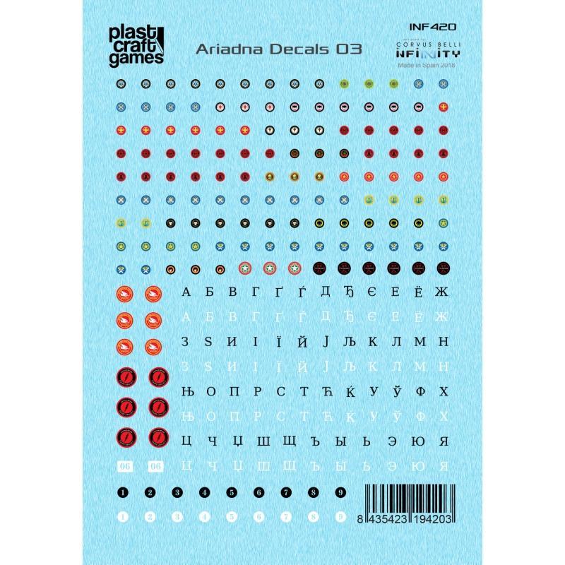 Infinity Decals - Ariadna 03