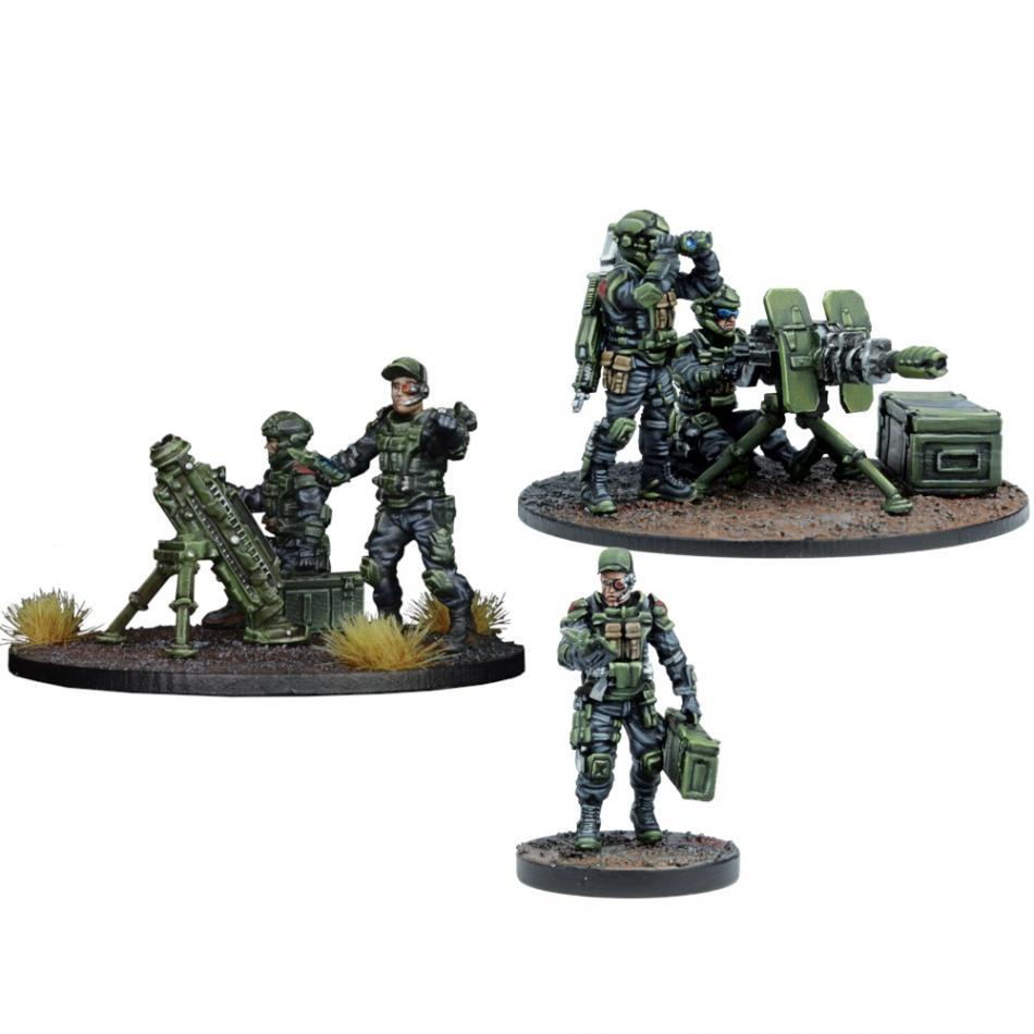 GCPS Anti-Infantry Weapon Teams