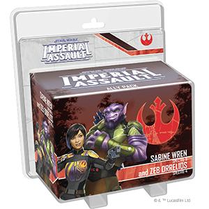 Sabine Wren and Zeb Orrelios Ally Pack: Star Wars Imperial Assault