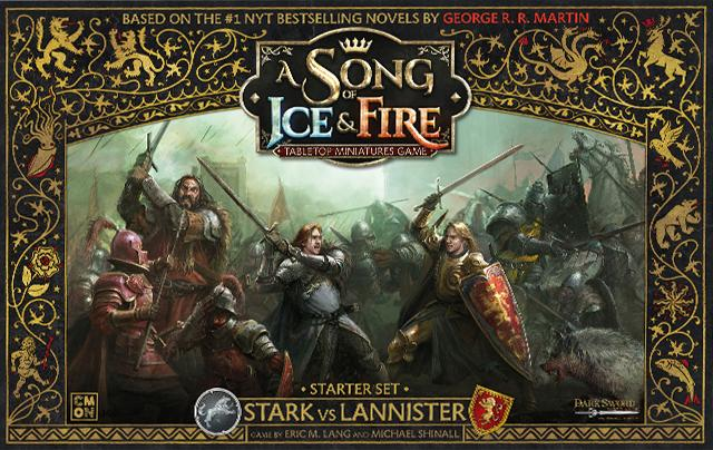 Stark vs Lannister Starter set: Song Of Ice and Fire Core Box