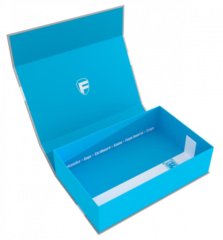 Feldherr Magnetic Box half-size 75 mm blue empty