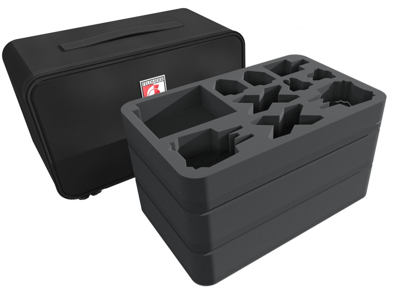 Feldherr MINI PLUS Case for X-Wing Scum and Villainy, Star Ships and Slave 1