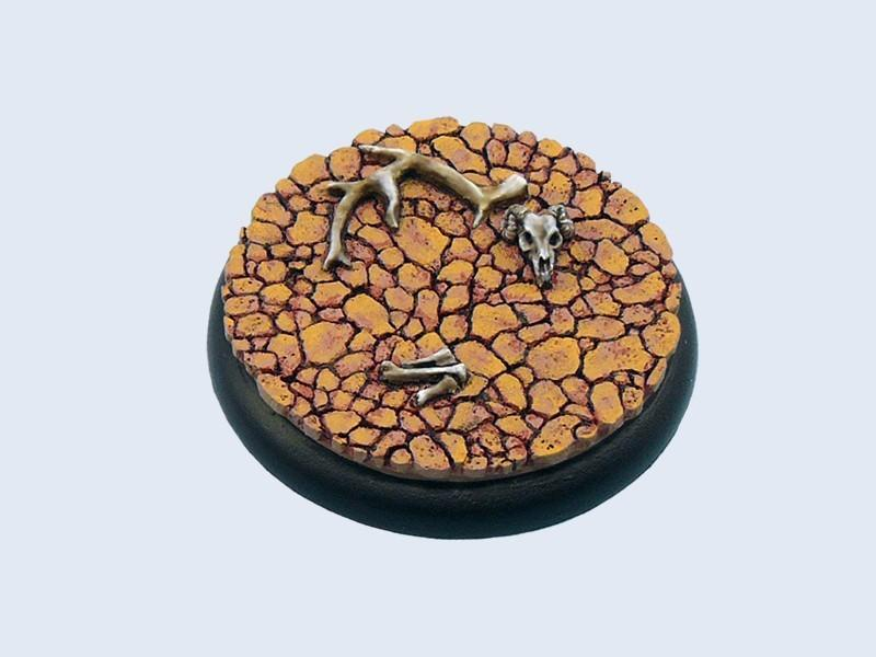 Wasteland Bases, WRound 50mm A (1)
