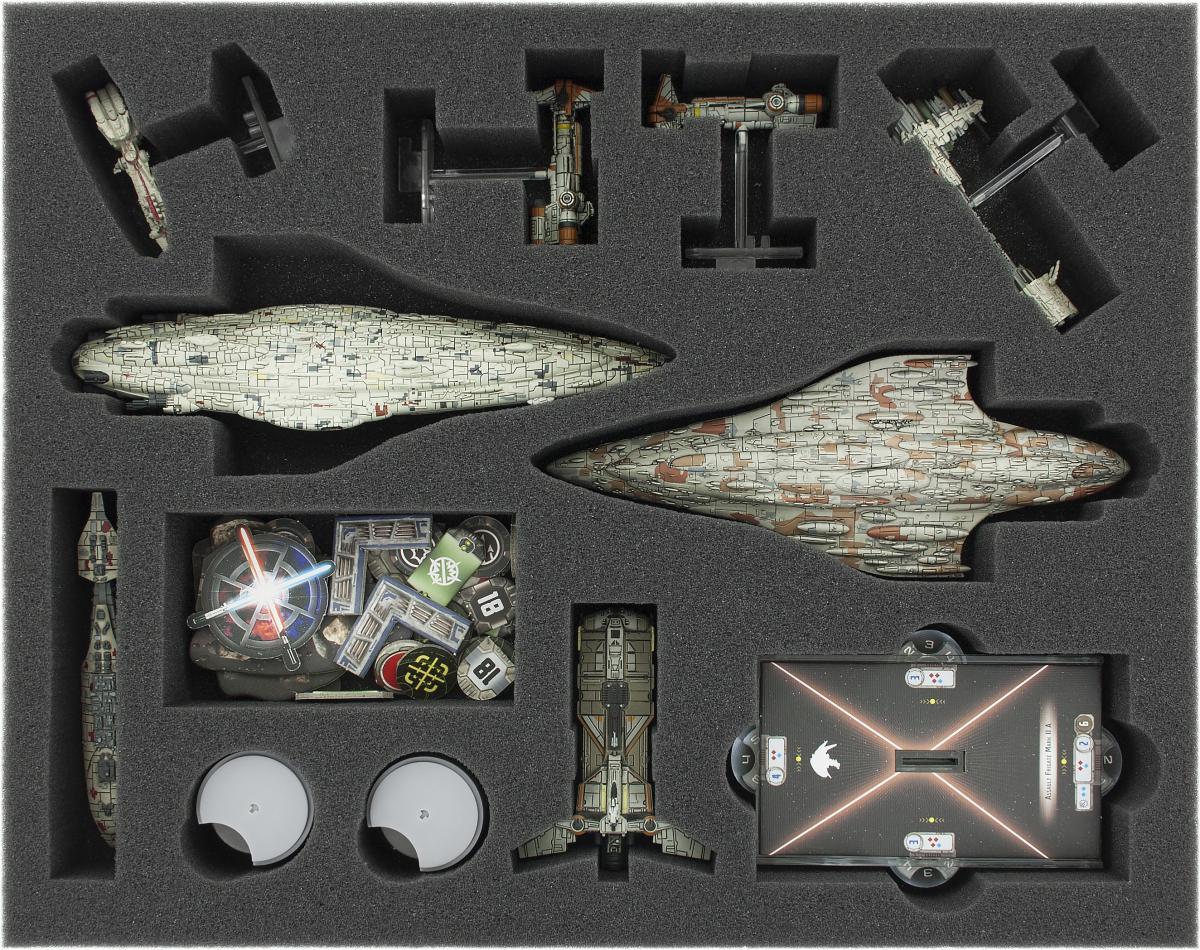 FSKS045BO 45 mm (1.77 inches) full-size foam tray for Star Wars Armada: Rebels