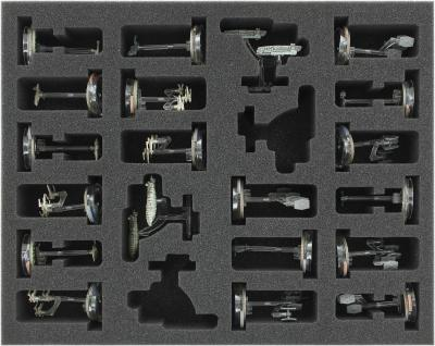 FSKT045BO 45 mm (1.77 inches) full-size foam tray for Star Wars Armada: Squadrons