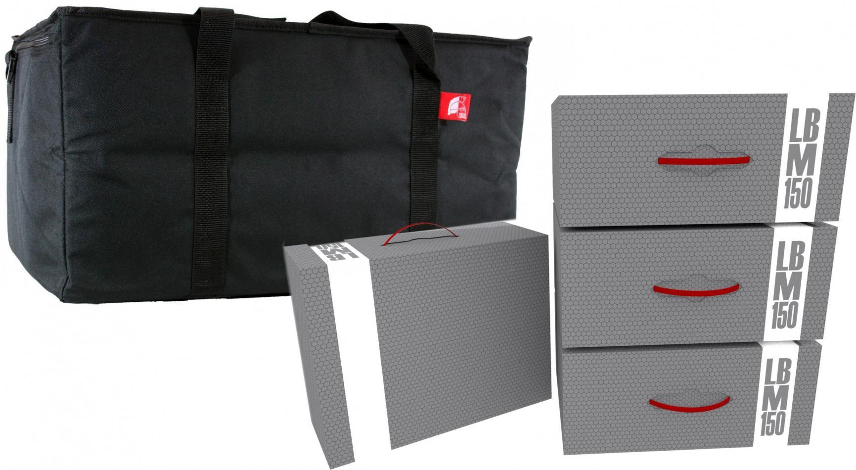 Hobby Transporter + 4 Storage Box M -empty- Bundle