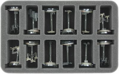 HS050AR01 foam tray for 12 Star Wars Armada Squadrons