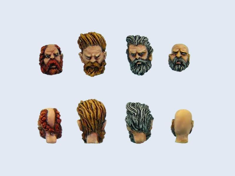 Barbarians heads # 1 (4)
