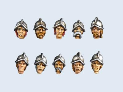 Guards heads # 1 (10)