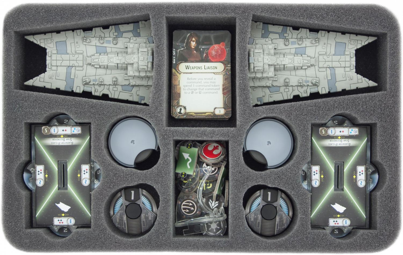 HSCP040BO foam tray for Star Wars Armada Gladiator-Class Star Destroyer