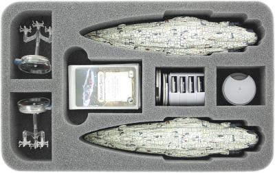 HSDP045BO foam tray for Star Wars Armada Wave 2 Home One