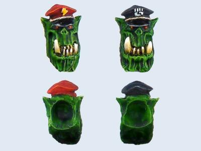 Orc Generals Heads # 1 (2)