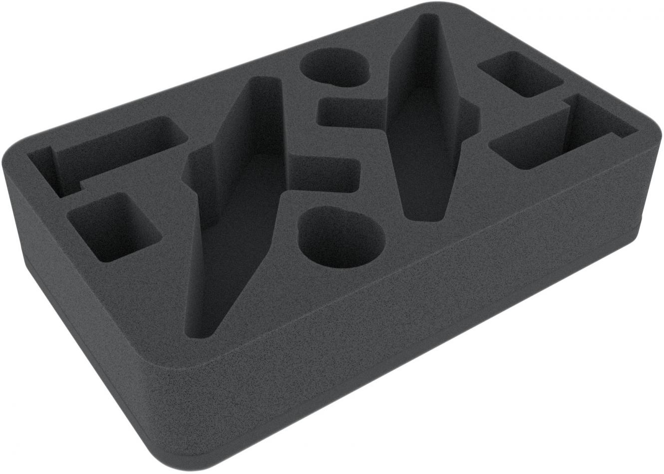 HSMEAW060BO 60 mm foam tray for Star Wars Armada Profundity 2pcs.