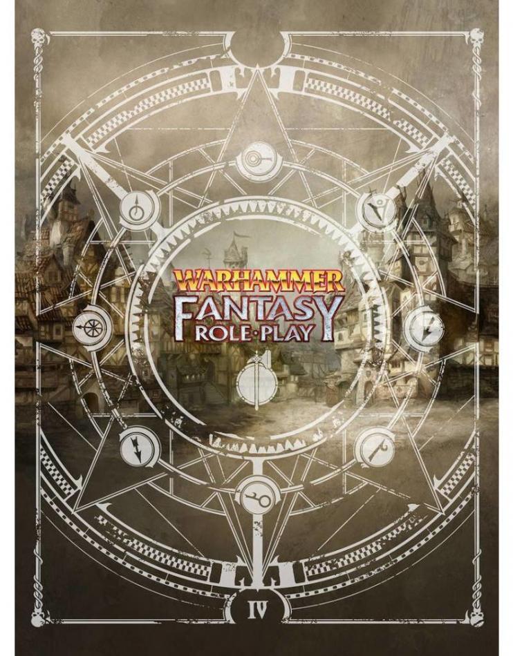 Warhammer Fantasy Roleplay Fourth Edition Limited Edition Rulebook