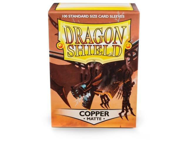 Dragon Shield Sleeves Matte Copper (100)