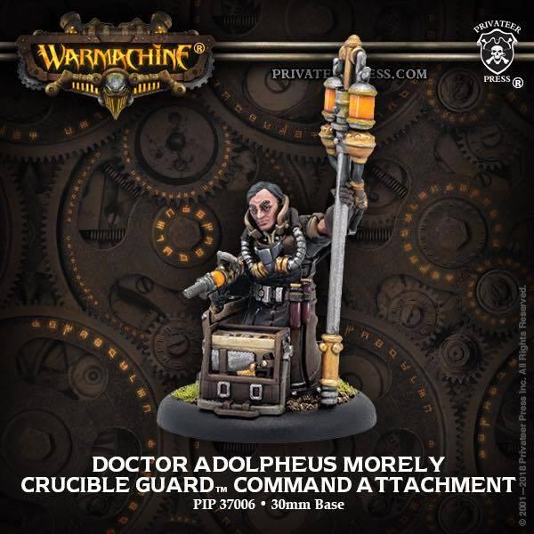 Golden Crucible Solo Doctor Adolpheus Morley  all metal