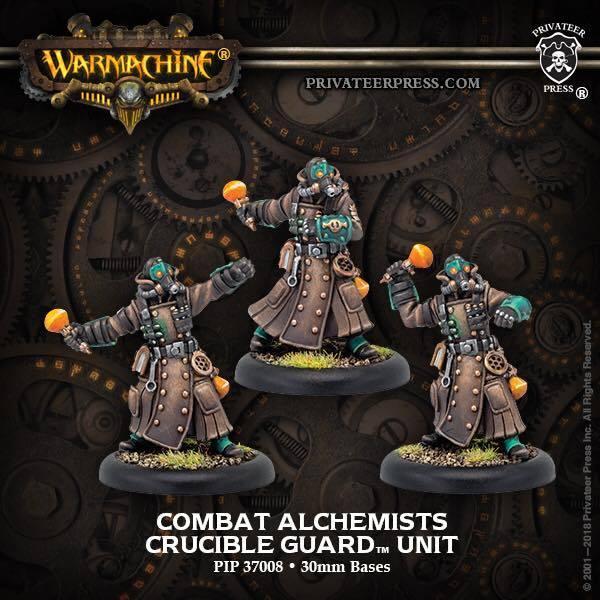 Golden Crucible Unit Combat Alchemists (3)  inc resin