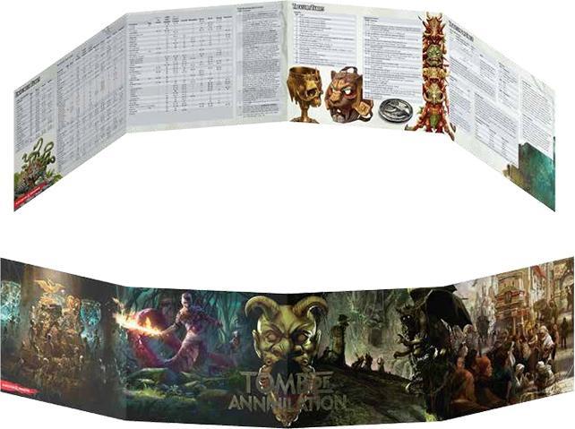 Tomb Of Annhilation DM Screen
