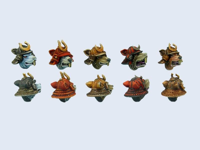 Nezumi Samurai Heads (5)