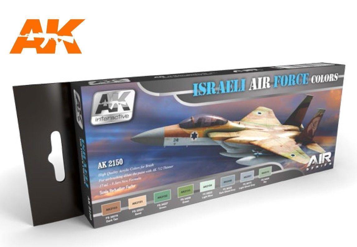 AK Interactive Set - Israeli Air Force Colours