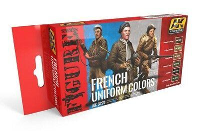 AK Interactive Set - French Uniform Colours