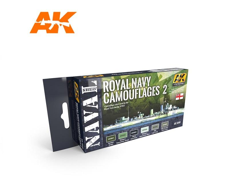 AK Interactive Set - Royal Navy Camouflages Set 2