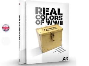 AK Book - Real Colours of WWII Guide for WWII AFV colours