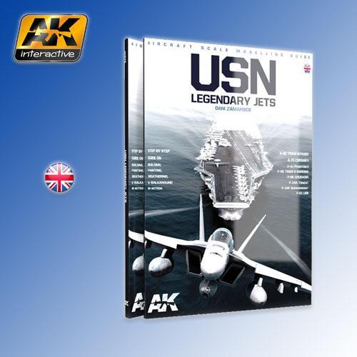 AK Interactive Book - USN Legend Reactors