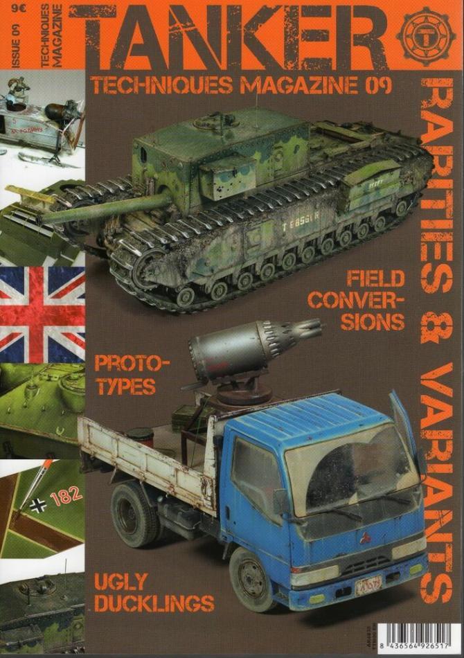 Tanker Magazine Issue 09 Rarities & Variants