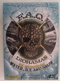 AK Interactive Book FAQ Dioramas Water, Ice and Snow