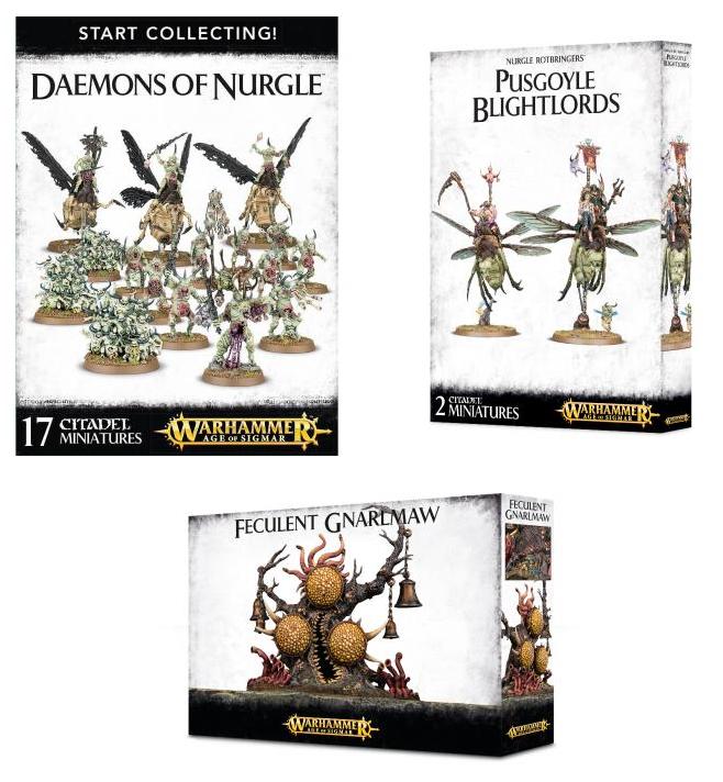 Daemons of Nurgle Support Bundle