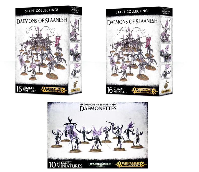 Daemons of Slaanesh Starter Bundle