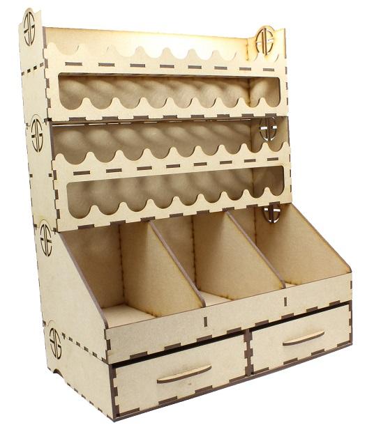 Element Essentials Painting Rack Dropper Bottle Bundle