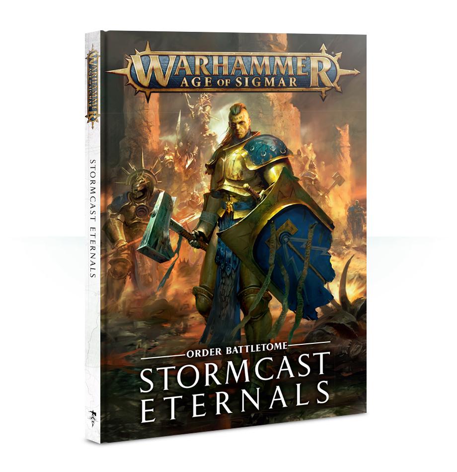 Battletome: Stormcast Eternals 2018 version (Hardback) English