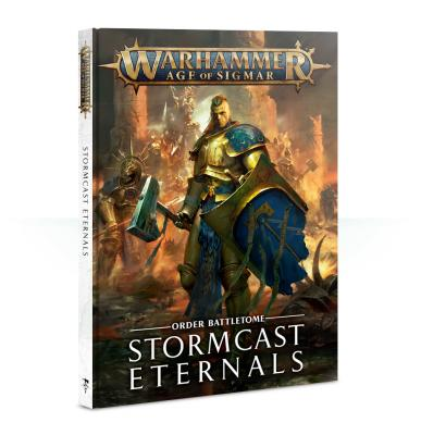 Battletome: Stormcast Eternals 2018 version (Hardback) English