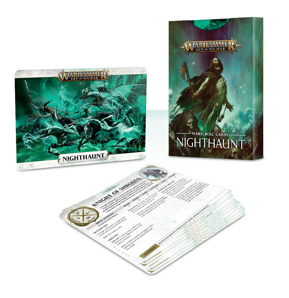 Warscroll Cards: Nighthaunt (English)