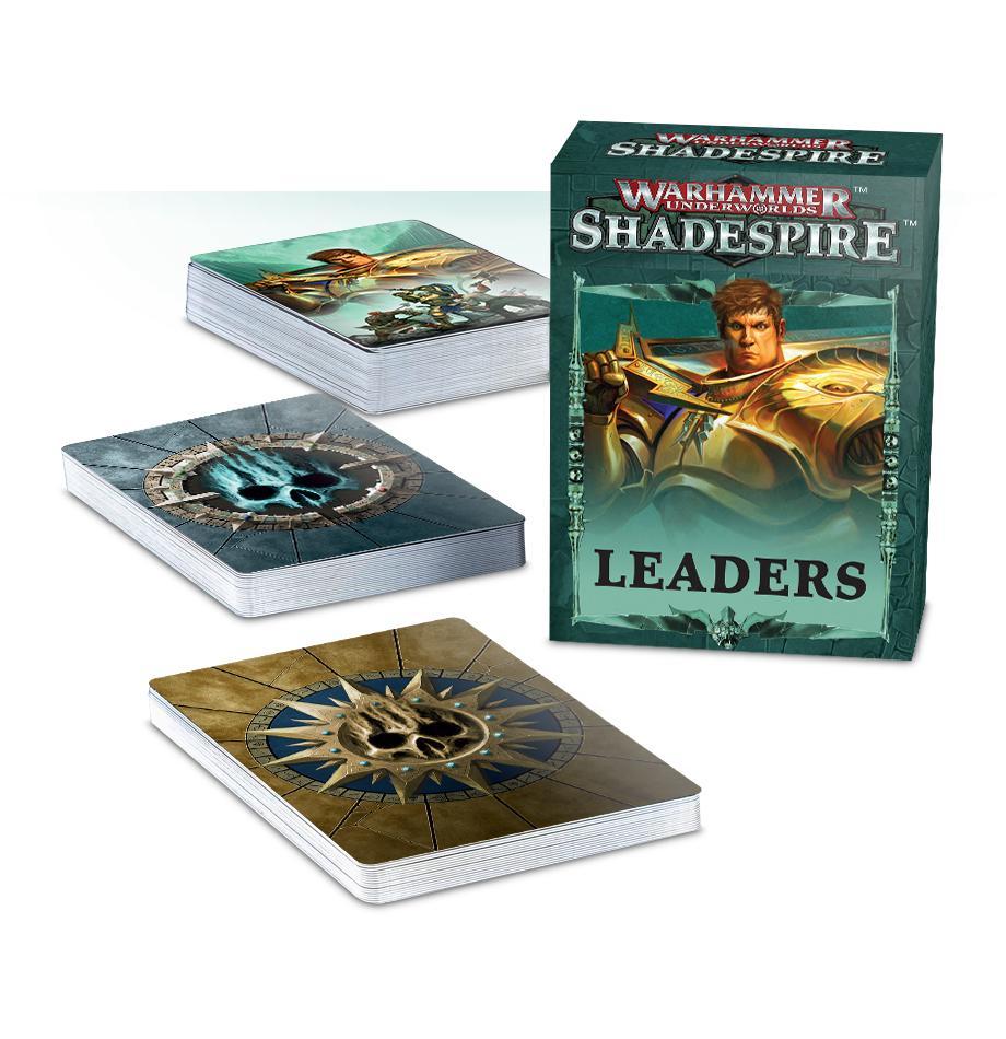 Shadespire Leader Cards (English)