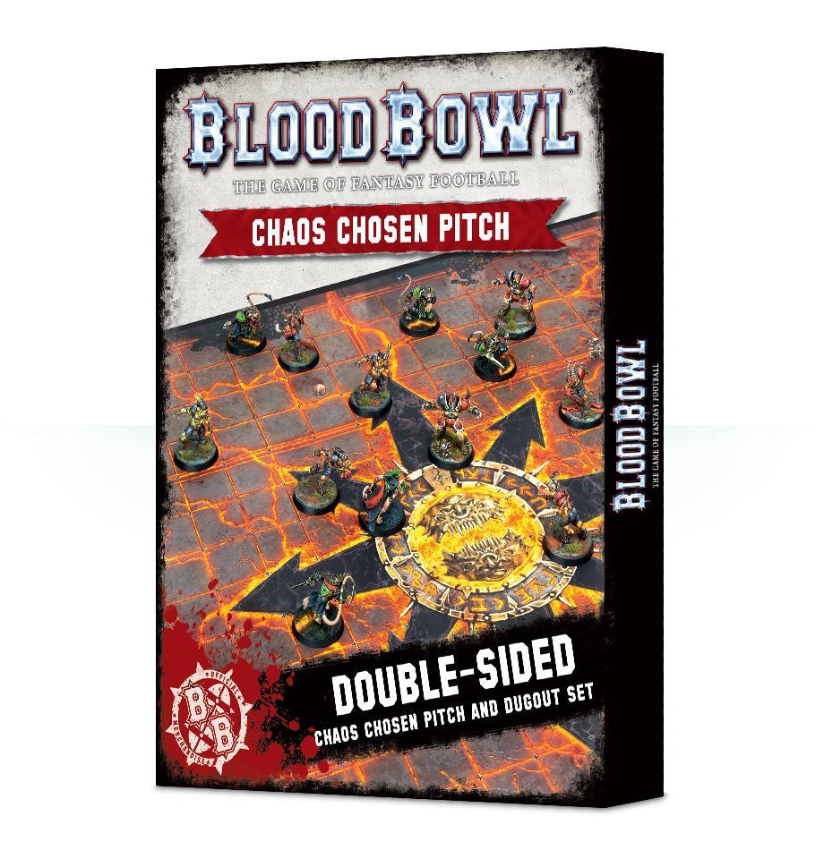 Blood Bowl : Chaos Pitch & Dugouts
