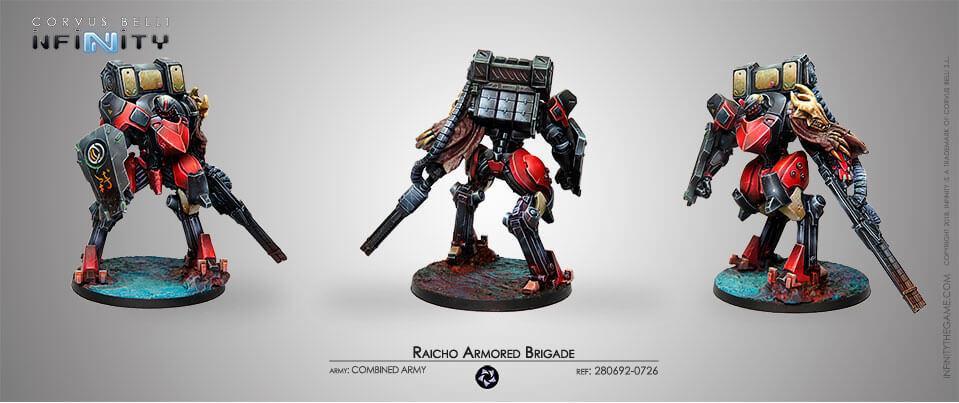 Raicho Armored Brigade (New Edition)