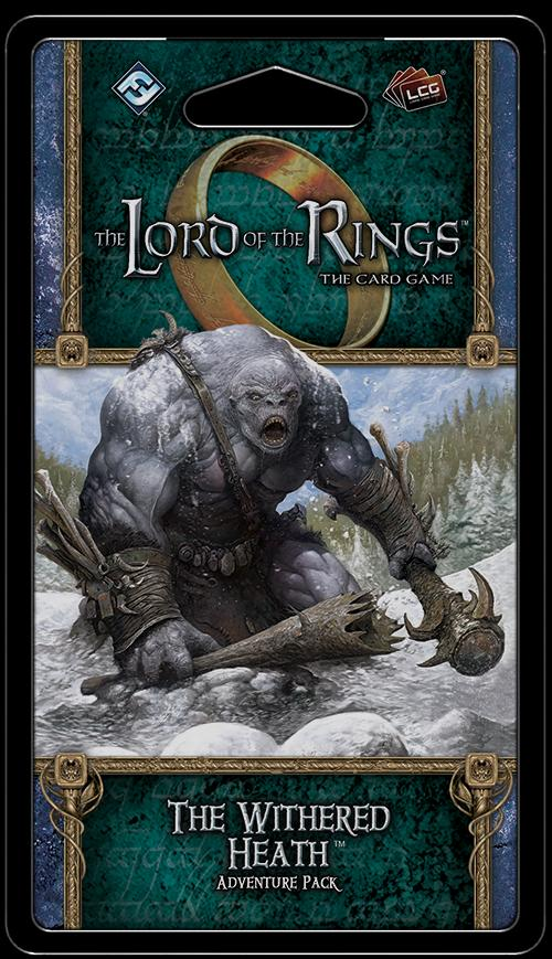 The Withered Heath Adventure Pack: Lord of the Rings LCG