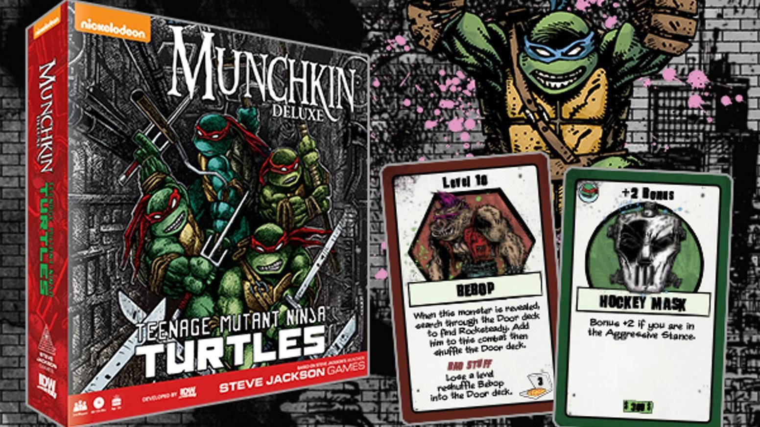 Munchkin Teenage Mutant Ninja Turtles (TMNT)