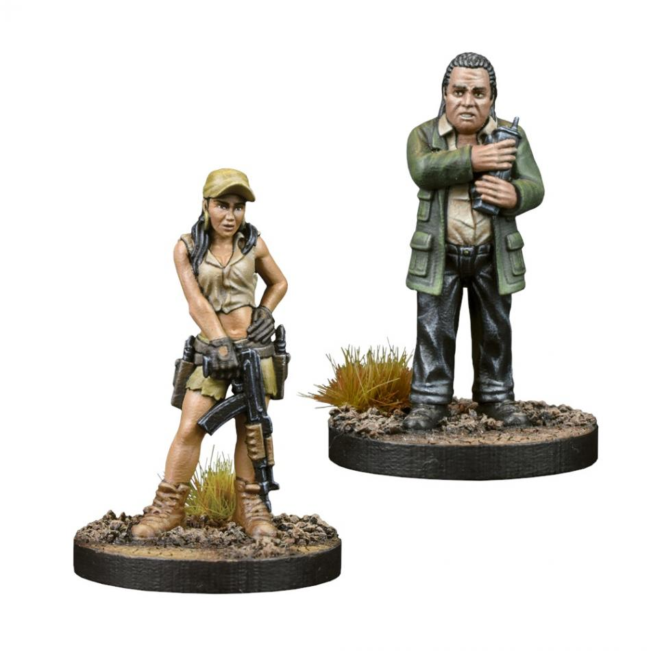 Rosita and Eugene  Booster - The Walking Dead: All Out War