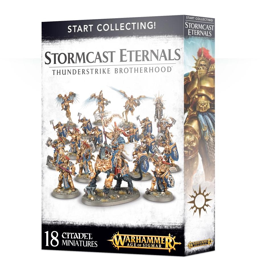 Stormcast Eternals Thunderstrike Brotherhood