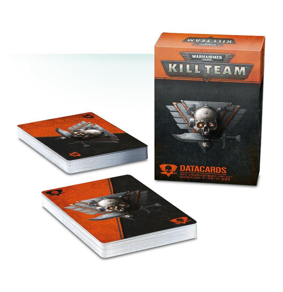 Kill Team Data Cards (English)