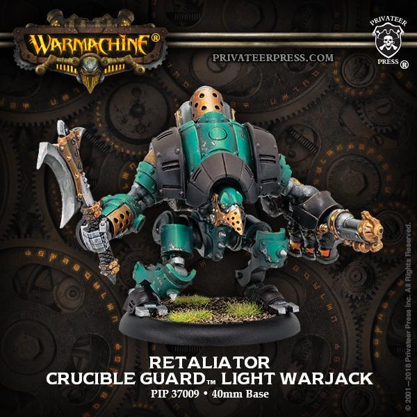 Crucible Guard Retaliator inc resin