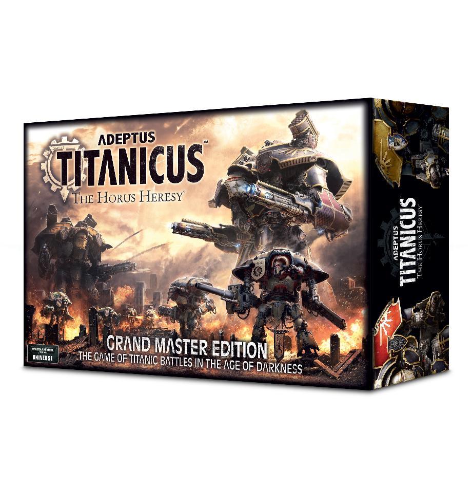 Adeptus Titanicus: Grand Master Edition (English)