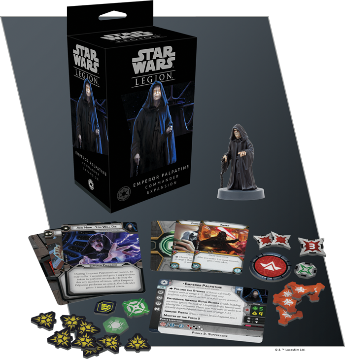 Emperor Palpatine Unit Expansion