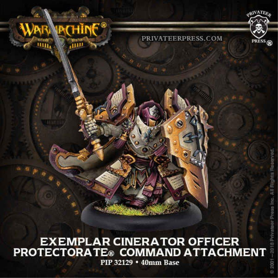 WARMACHINE: PROTECTORATE OF MENOTH - EXEMPLAR CINERATOR OFFICER