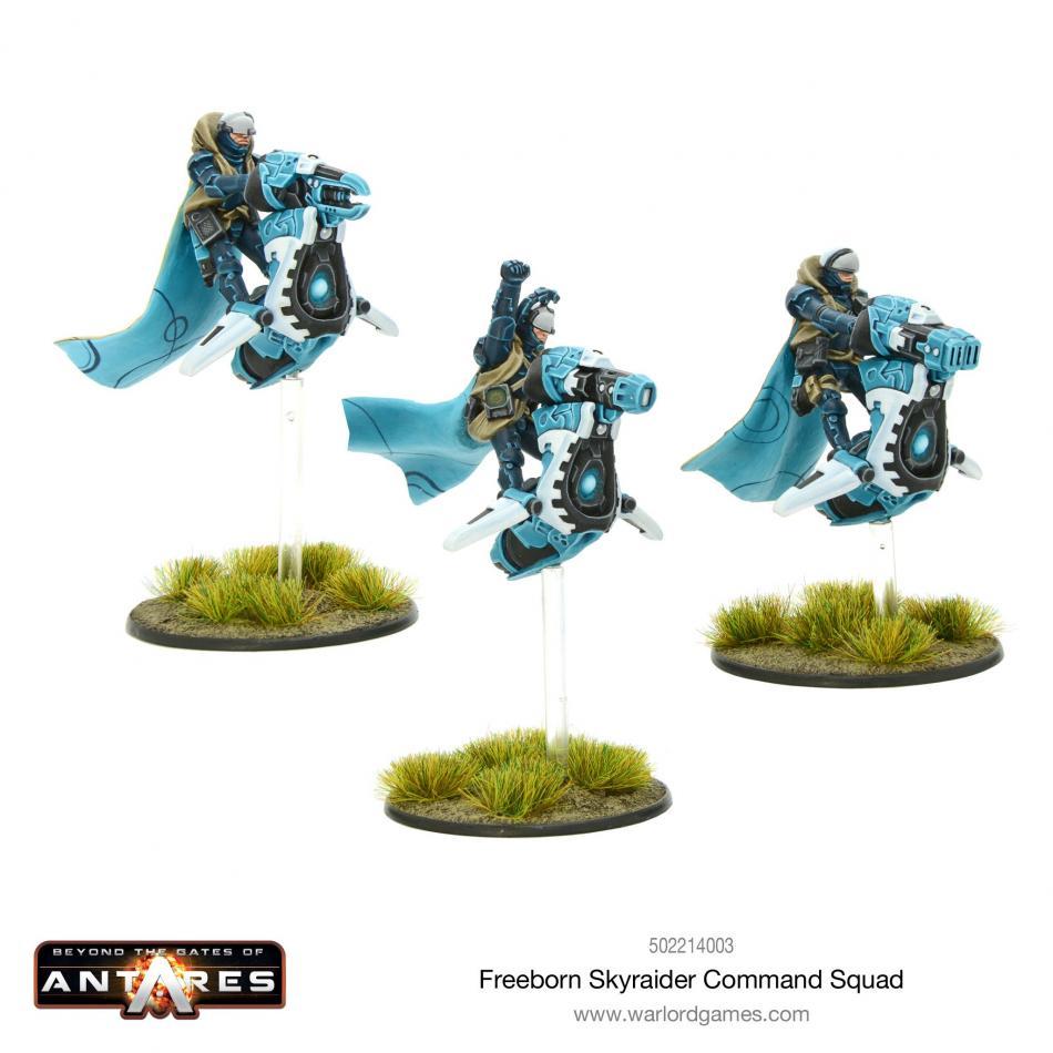 Freeborn Sky Raider Command Squad