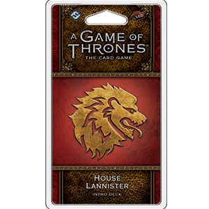 House Lannister Intro Deck: Game of Thrones